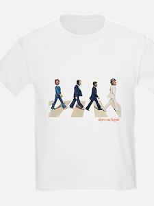 Hillary,Bill,JFK,FDR on Abbey T-Shirt