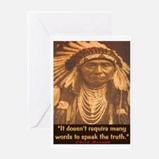 SPEAK THE TRUTH Greeting Card
