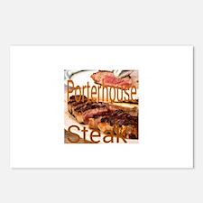 Porterhouse Steak Postcards (Package of 8)