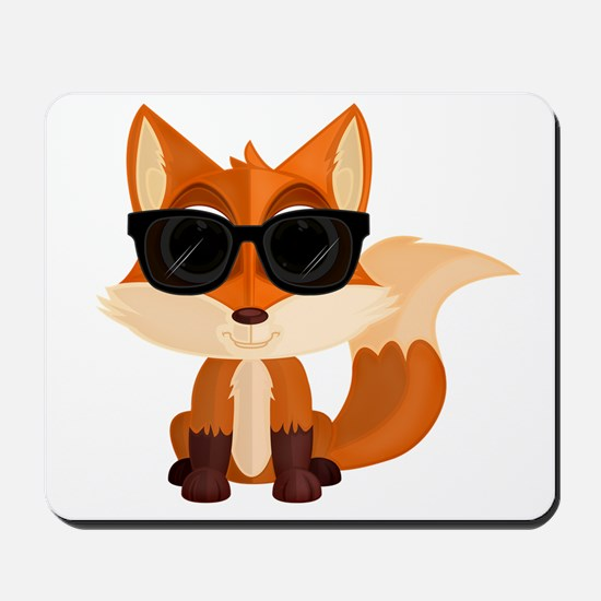 Cool Fox Mousepad