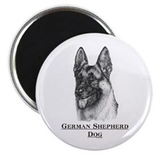 German Shepherd Dog Breed Magnet