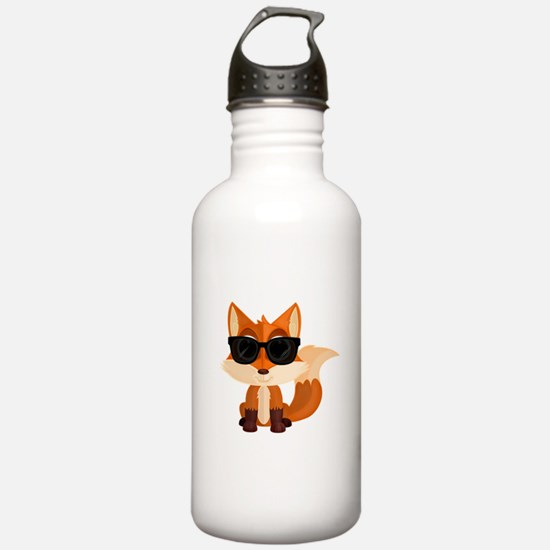 Cool Fox Water Bottle