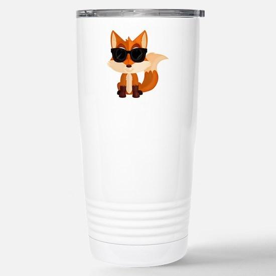Cool Fox Stainless Steel Travel Mug