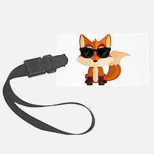 Cool Fox Luggage Tag