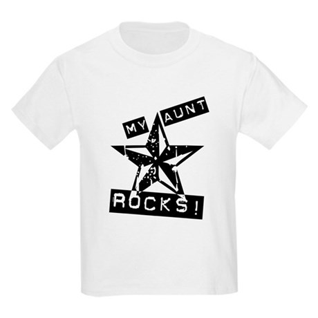 My Aunt Rocks! Kids Light T-Shirt
