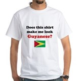 Guyana Mens White T-shirts
