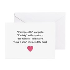 GIVE IT A TRY... Greeting Cards (Pk of 20)