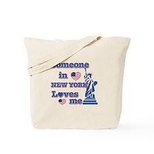 Someone in Newyork Loves me Tote Bag