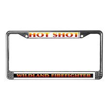 Firefighter License Plate Frame