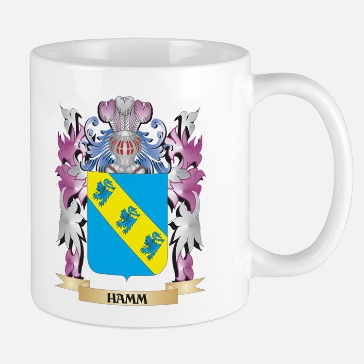 Hamm Coat of Arms (Family Crest) Mugs