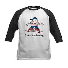 S is for Skateboarding Tee