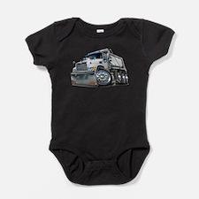Funny Dump truck Baby Bodysuit