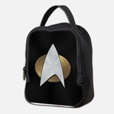 STARTREK TNG METAL 5 Neoprene Lunch Bag