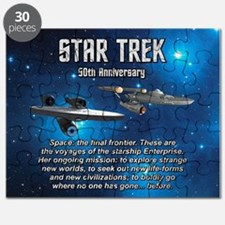 50TH FINAL FRONTIER Puzzle