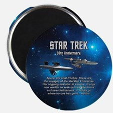 50TH FINAL FRONTIER Magnet