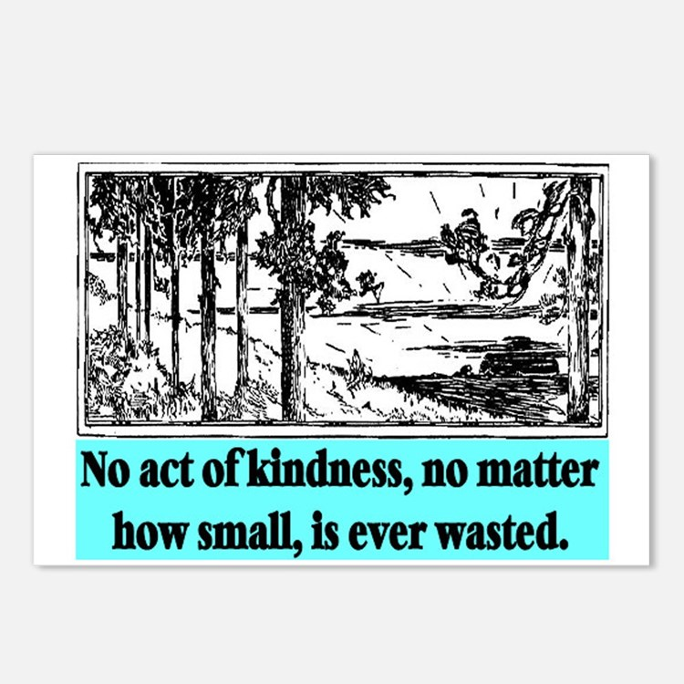 ACT OF KINDNESS.. Postcards (Package of 8)