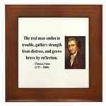 Thomas Paine 17 Framed Tile