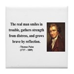 Thomas Paine 17 Tile Coaster