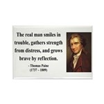 Thomas Paine 17 Rectangle Magnet (100 pack)