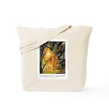 Spring and Fall: Goldengrove Unleaving Tote Bag