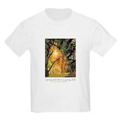 Spring and Fall: Goldengrove Unleaving T-Shirt