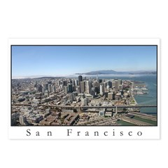 aerial california photography Postcards (Package o