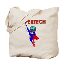 Supertech 1 Two side print Tote Bag