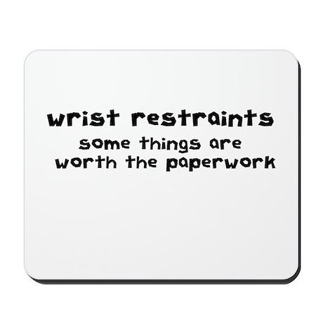 Wrist Restraints Mousepad