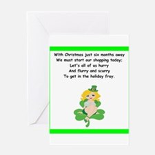 funny limerick Greeting Cards