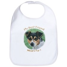 Best Friend Rat Terrier Bib