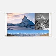 Everest,K2 and Matterhorn Summits Banner