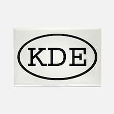 KDE Oval Rectangle Magnet