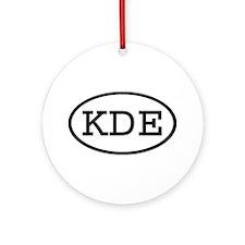 KDE Oval Ornament (Round)