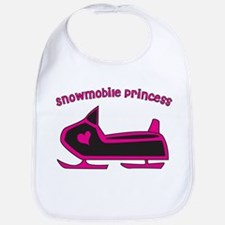 """Snowmobile Princess"" Bib"