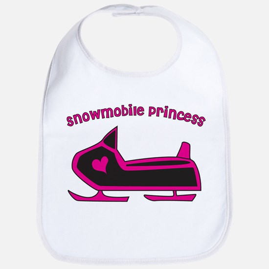 """""""Snowmobile Princess"""" Bib"""