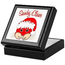 """Sandy Claws"" Keepsake Box"