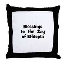 Blessings  to  the  Zay of Et Throw Pillow