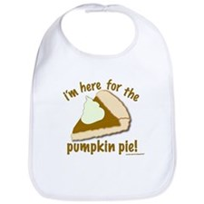"'Pumpkin Pie"" Bib"