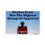 Kosher Food Has The Highest S Rectangle Magnet (10