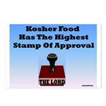 Kosher Food Has The Highest S Postcards (Package o