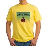 Kosher Food Has The Highest S Yellow T-Shirt