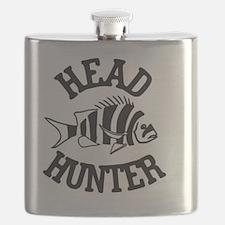 Unique Head Flask