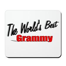 """The World's Best Grammy"" Mousepad"