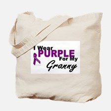 I Wear Purple For My Granny 3 (PC) Tote Bag