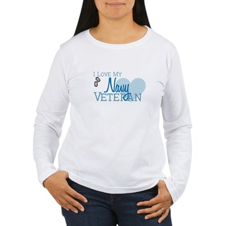 Navy Veteran Women's Long Sleeve T-Shirt