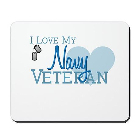 Navy Veteran Mousepad