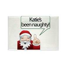 Katie's Been Naughty Rectangle Magnet (100 pack)