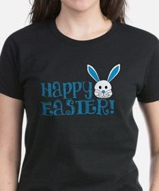 Happy Easter! -Blue/White Tee