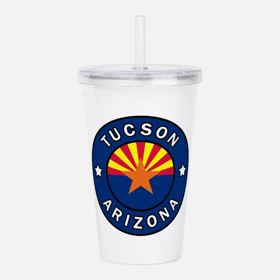 Tucson Arizona Acrylic Double-wall Tumbler