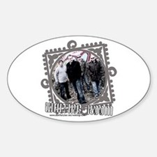 Waiting Room Oval Decal
